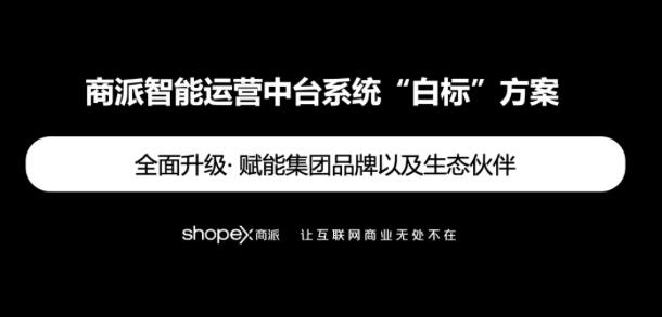 """""""白标""""版智能运营中台,为多品牌集团解决系统孤岛难题"""
